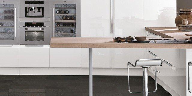 Cucine Moderne Bianche.Cucine Bianche Moderne Cose Di Casa