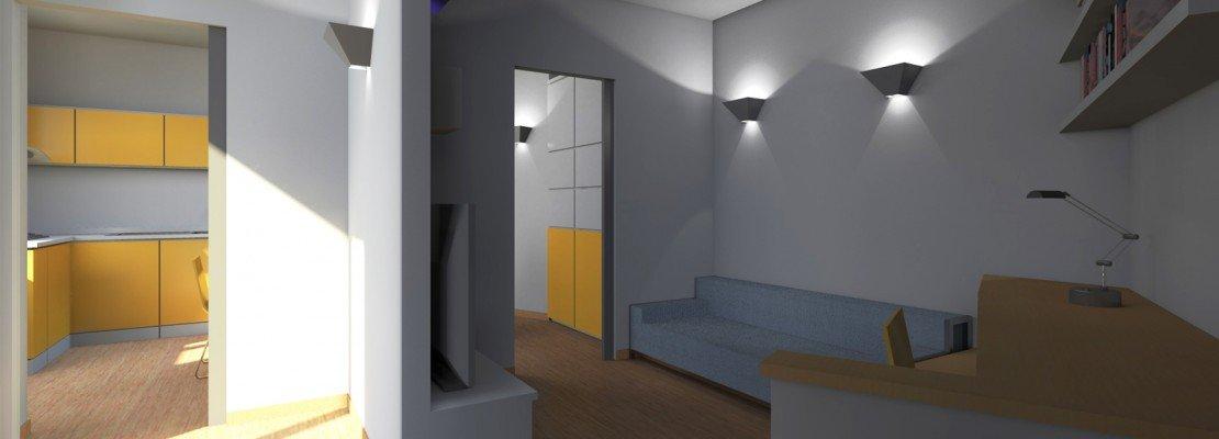 Zona giorno open space: come separare le funzioni   cose di casa