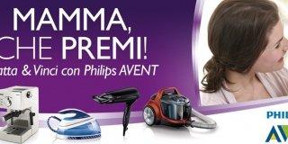"""Con il concorso Philips """"Mamma che premi!"""" vinci piccoli elettrodomestici"""