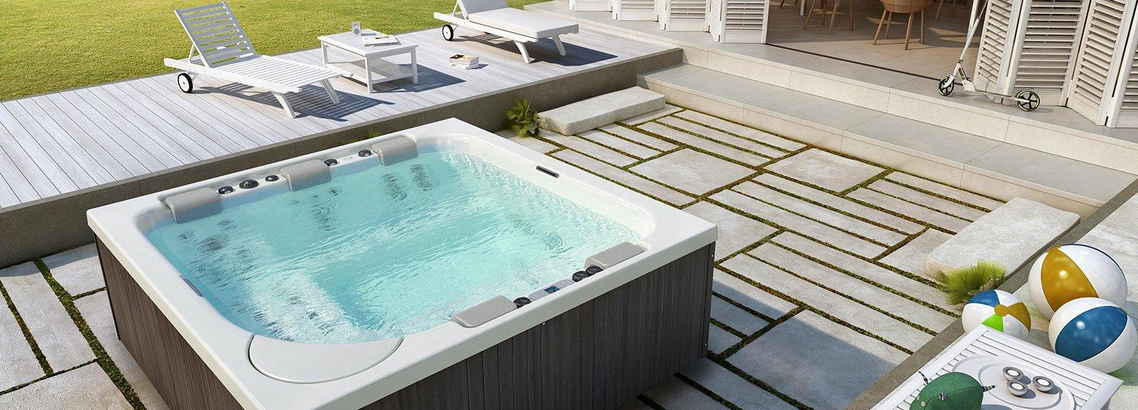 Minipiscine da esterno benessere all aperto cose di casa - Vasca idro da esterno ...