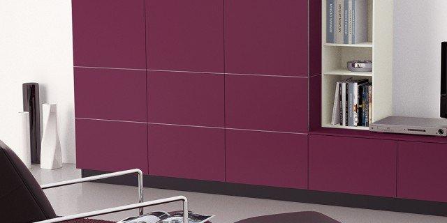 Il colore viola. Per arredare