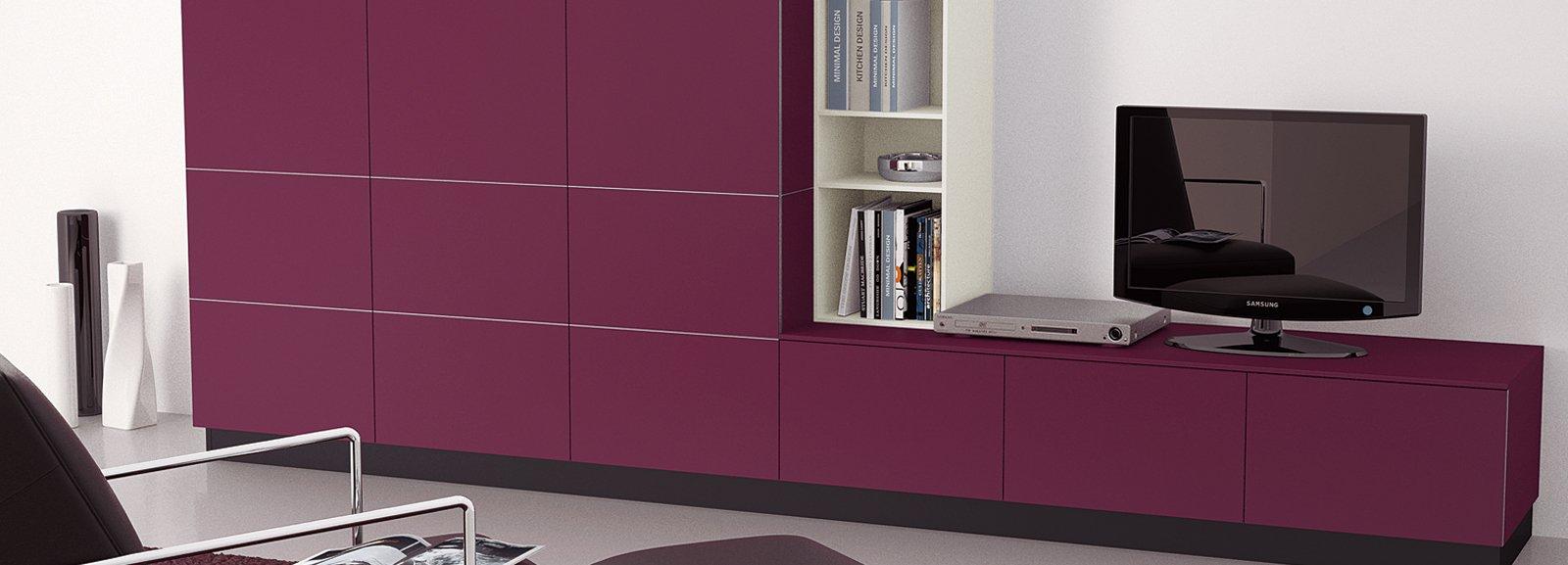 Il colore viola per arredare cose di casa - Colore per casa interno ...