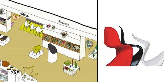 Vitra al Design Supermarket della Rinascente di Milano