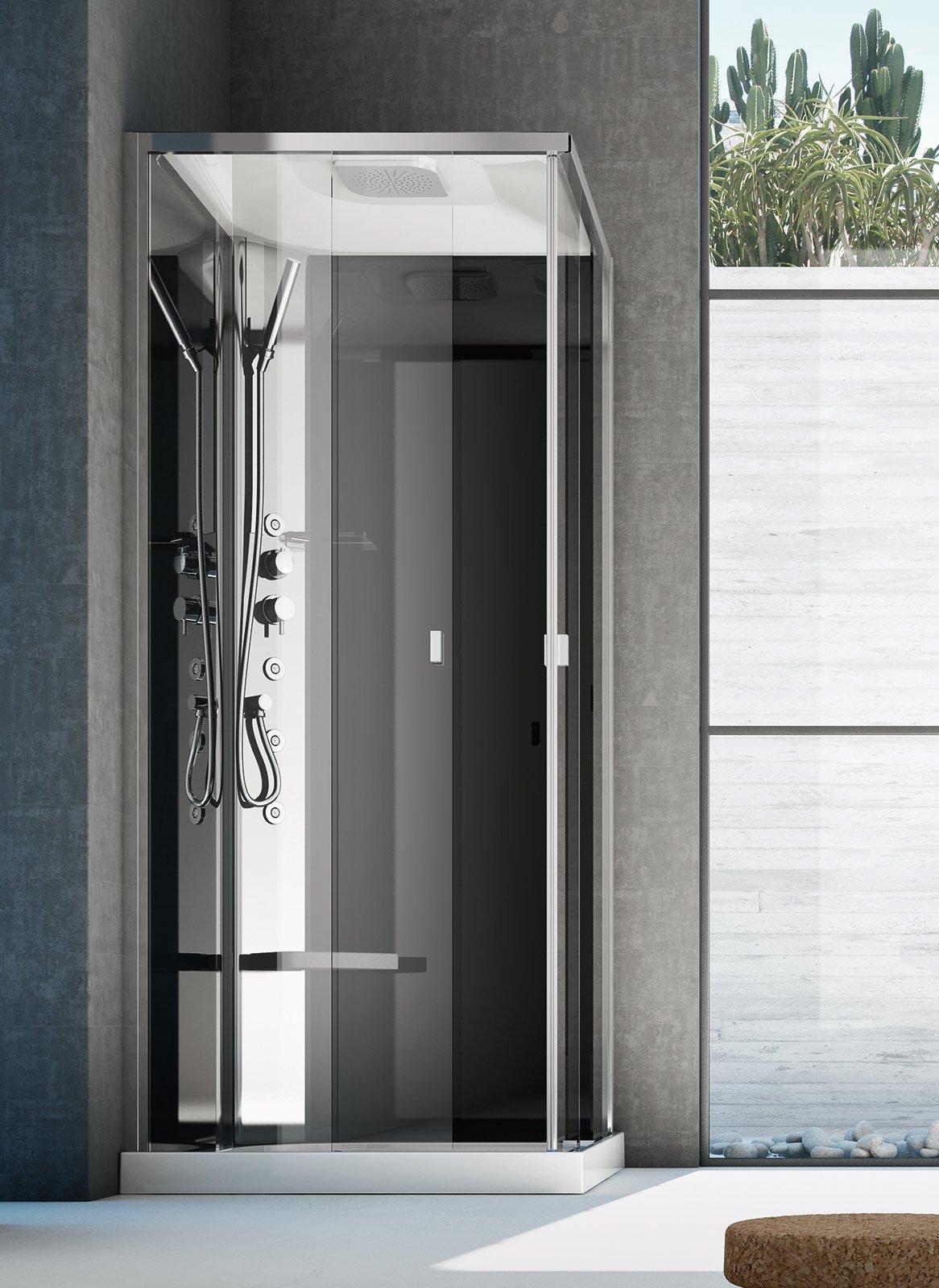 Casabook immobiliare il bagno cambia look dal lavabo all - Colonna doccia bagno turco ...