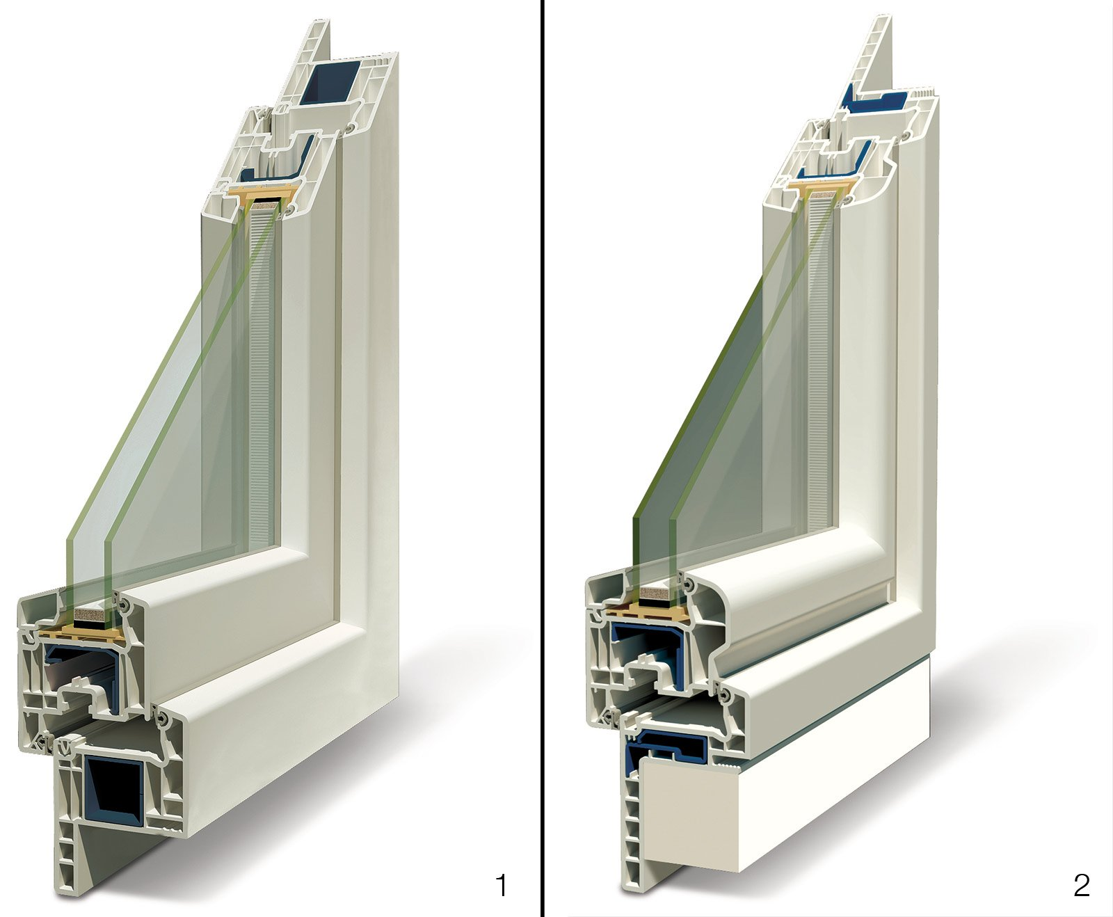 Oknoplast prolux prezzi fabulous finestra in pvc bianco vista interna porta finestre oknoplast - Quanto costa una finestra in pvc ...
