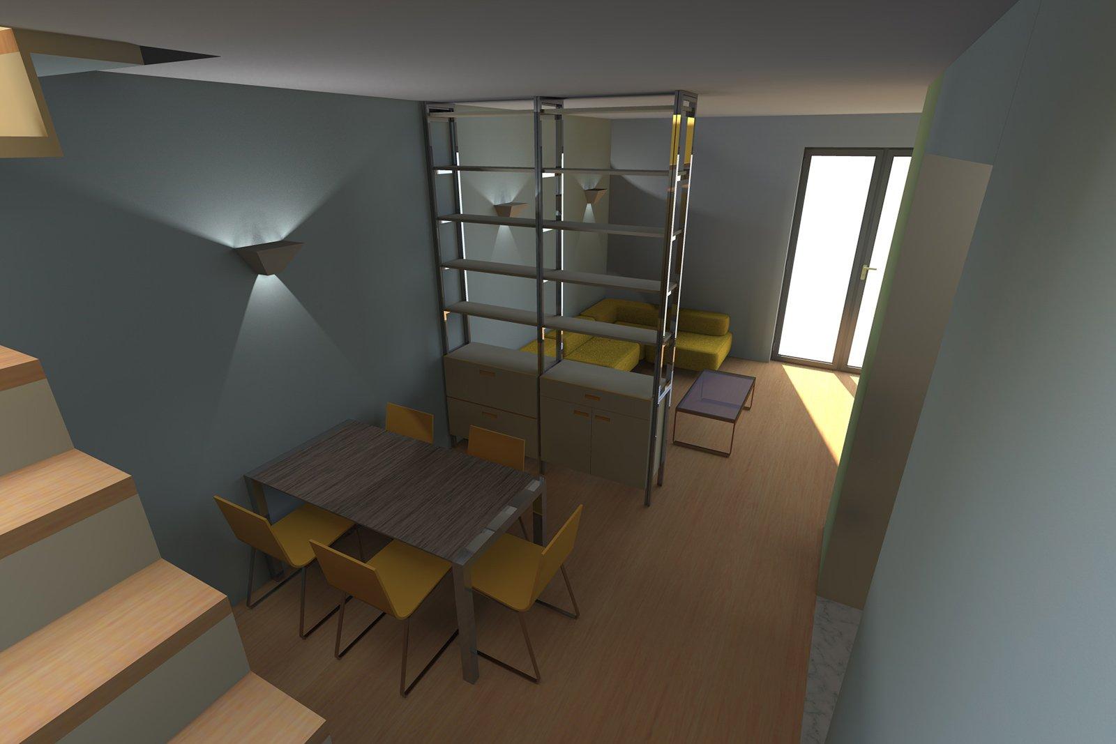 Spostare La Cucina Sul Balcone spostare la cucina: pianta e progetto in 3d - cose di casa