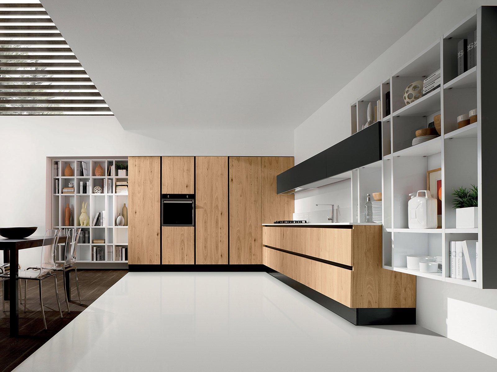 Popolare Cucine moderne in legno - Cose di Casa UE23