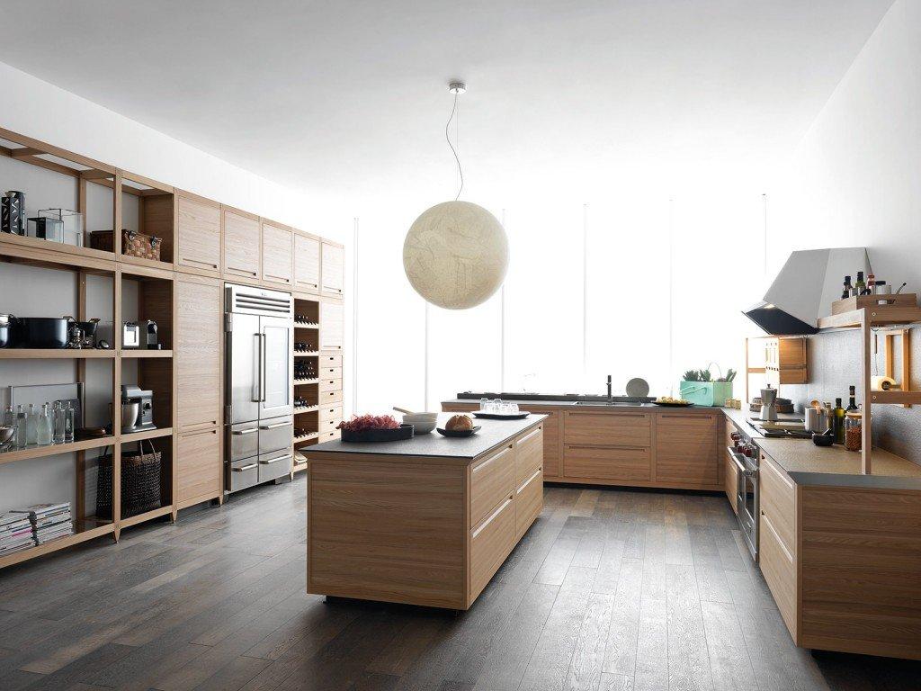 SineTempore Di Valcucine Fonde Insieme Il Design E Le Tecniche  #5E4736 1024 768 Cucine Moderne Di Legno