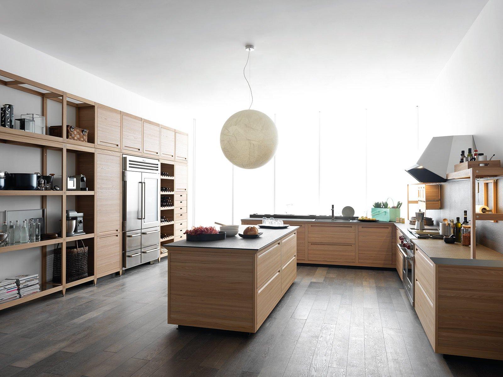 ... legno moderno. Cucine moderne legno naturale. Cucine moderne legno e