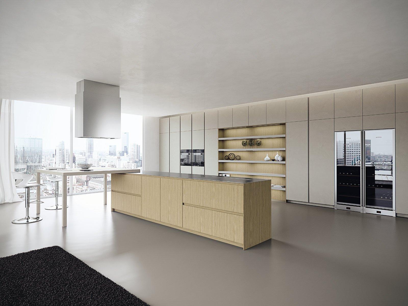 Cucine moderne in legno cose di casa for Design di mobili in legno italiano