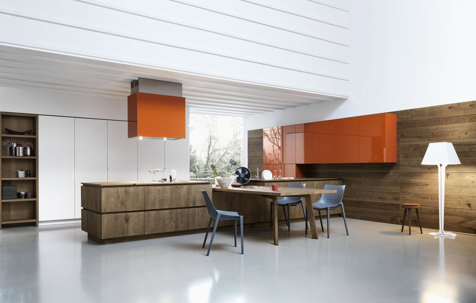 Awesome Cucine Moderne Rovere Sbiancato Ideas ...