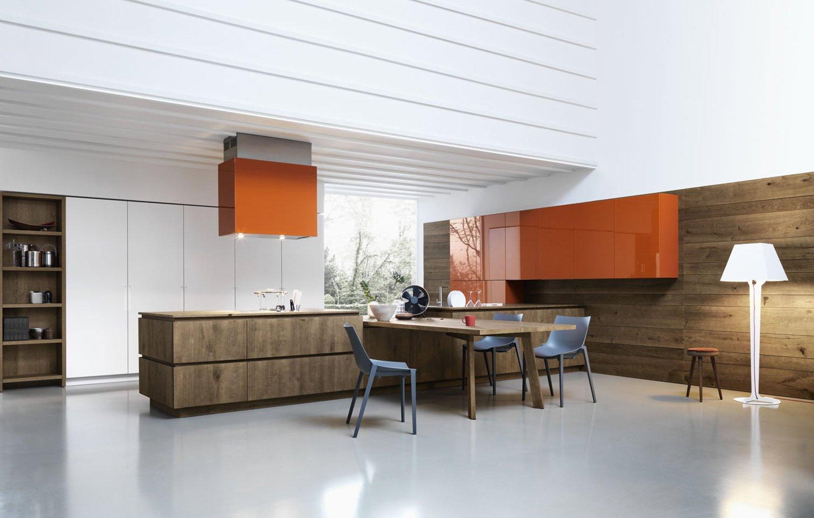 Cucine Moderne In Legno Cose Di Casa Pictures To Pin On Pinterest #A85323 1600 1018 Cucine Moderne Di Legno