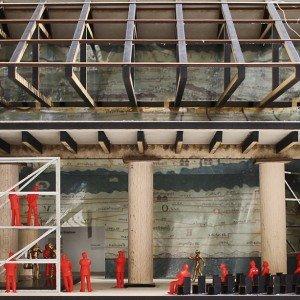 Monditalia – Corderie – Stages Frontal 14. Mostra Internazionale di Architettura – Fundamentals la Biennale di Venezia Corderie, Arsenale Courtesy la Biennale di Venezia Copyright Rem Koolhaas