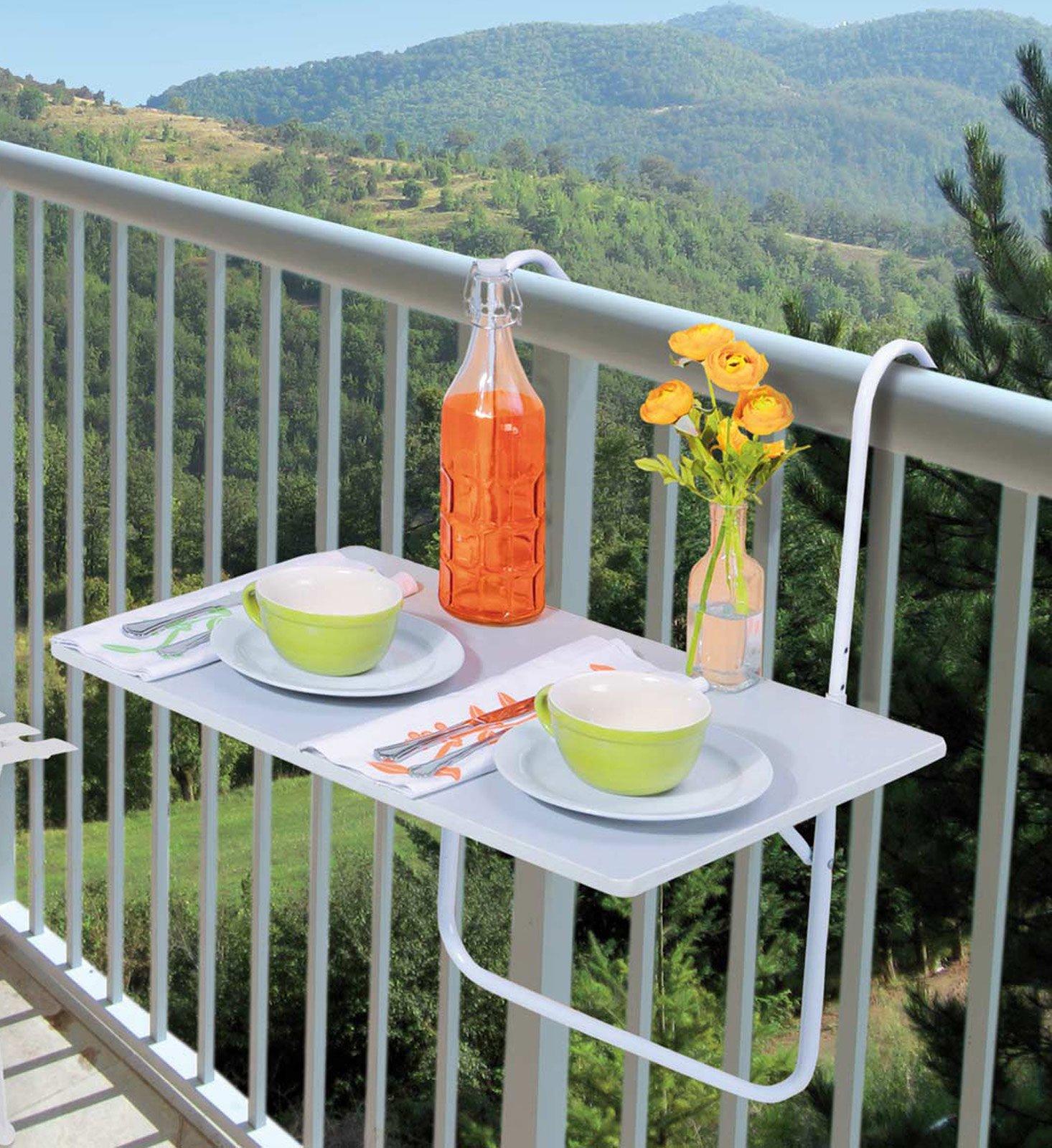 Arredare un piccolo spazio esterno cose di casa for Tavolino per balcone