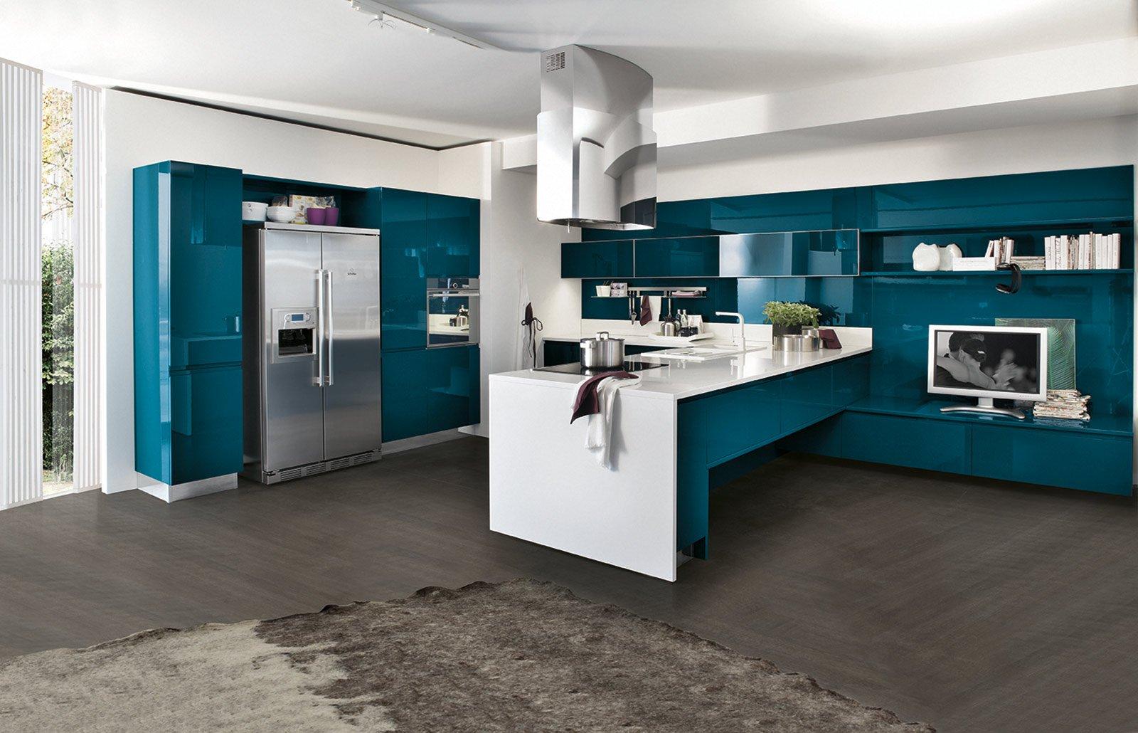 Cucine colorate come un quadro contemporaneo cose di casa - Cucine d arredo ...