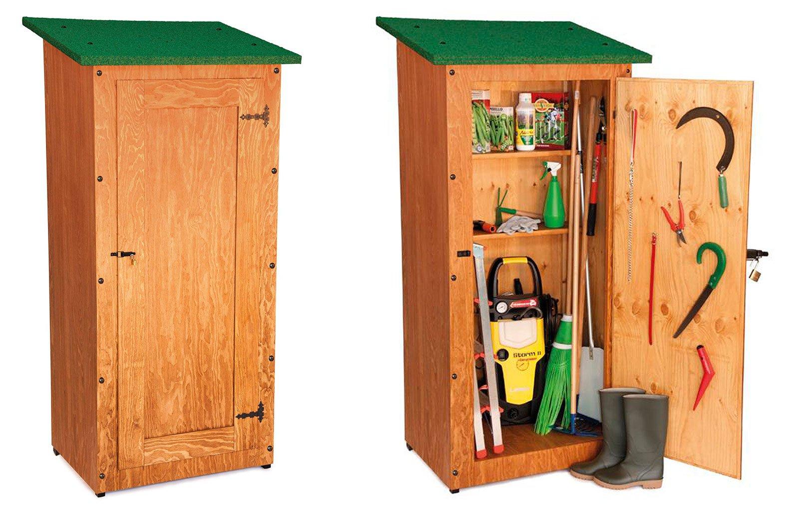 Mobili contenitori da giardino in legno mobilia la tua casa - Mobili in legno da esterno ...