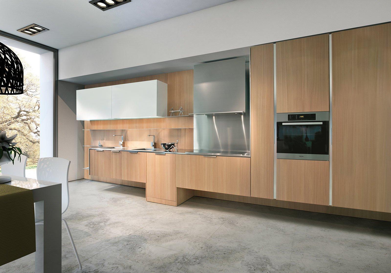 Cucine moderne in legno cose di casa - Cucine moderne in legno naturale ...