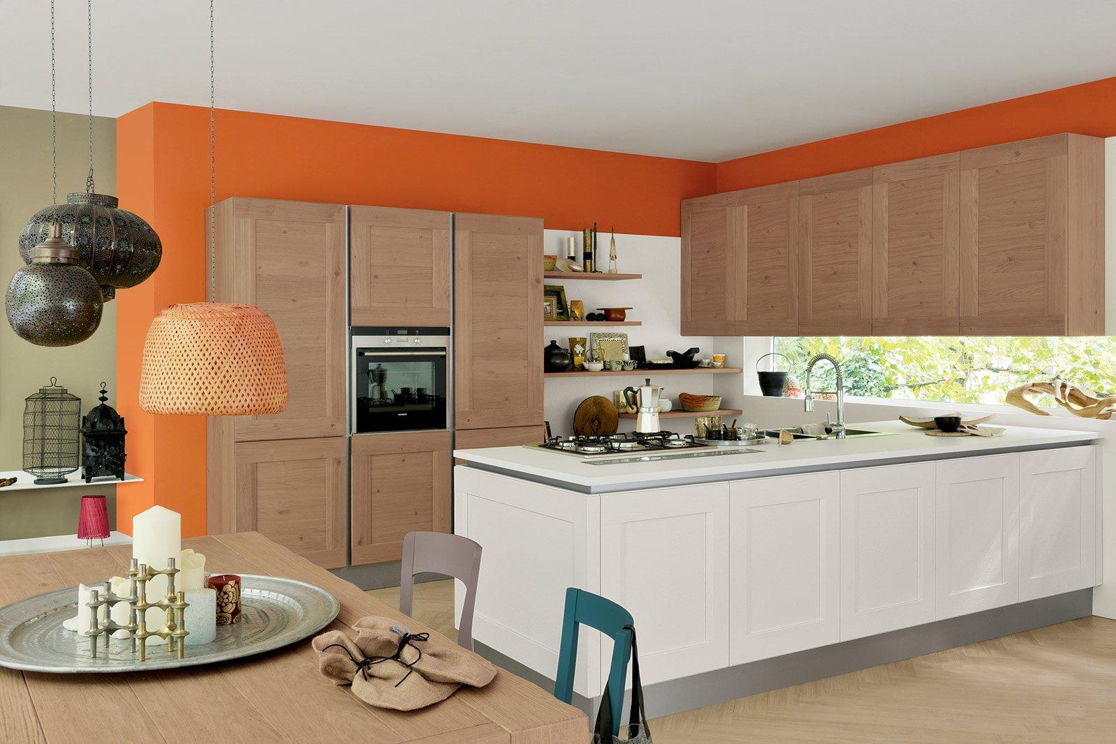 Cucine moderne in legno cose di casa for Vecchi piani colonica con foto
