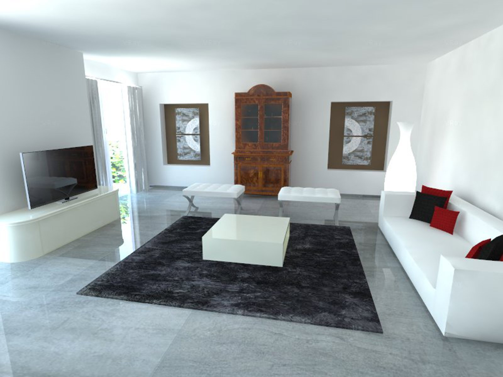 Mobile antico o in stile come inserirlo in un contesto for Disegni di casa italiana moderna