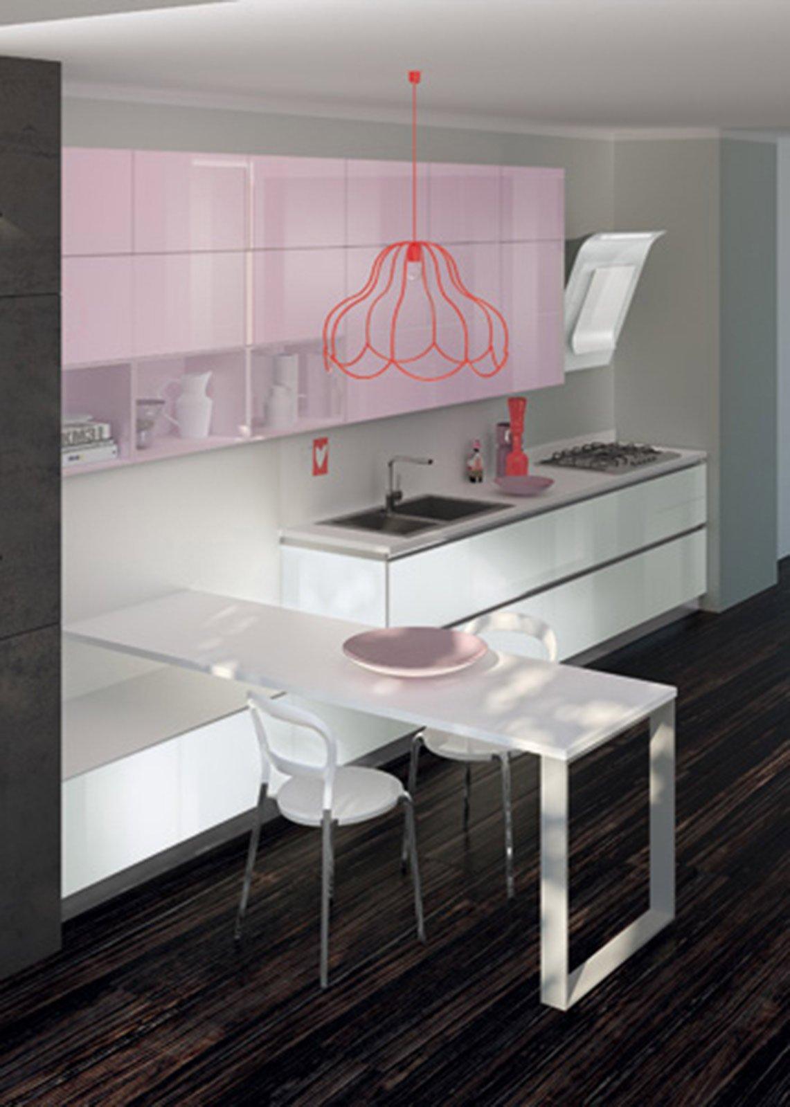 Vetro e colore per un ambiente contemporaneo - Cose di Casa