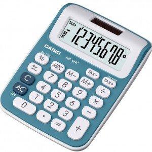 Calcolatrice Ms-6nc Blu di Casio