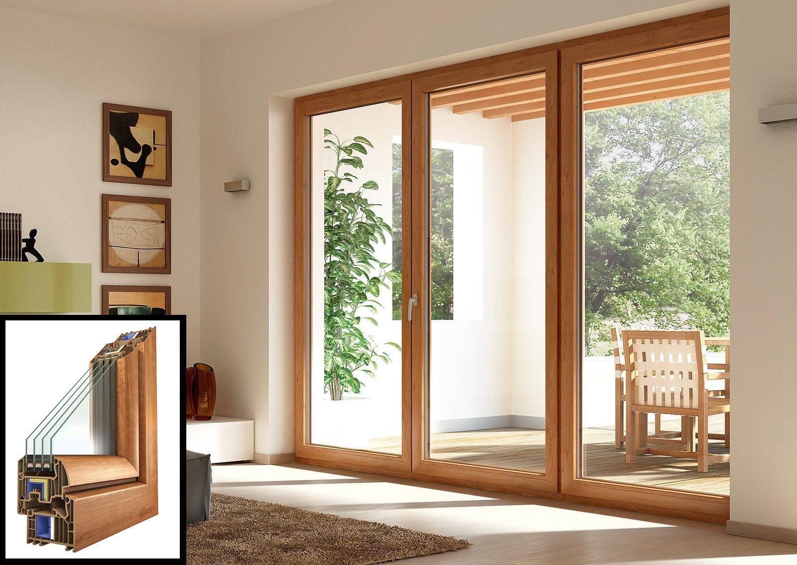 Scegliere le finestre isolanti per evitare dispersione e - La casa con le finestre che ridono ...