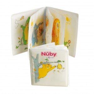 Il libricino Art. ID4755 di Nûby ha pagine impermeabili e morbide che emettono suoni. Prezzo 7,5 euro. www.nuby.it