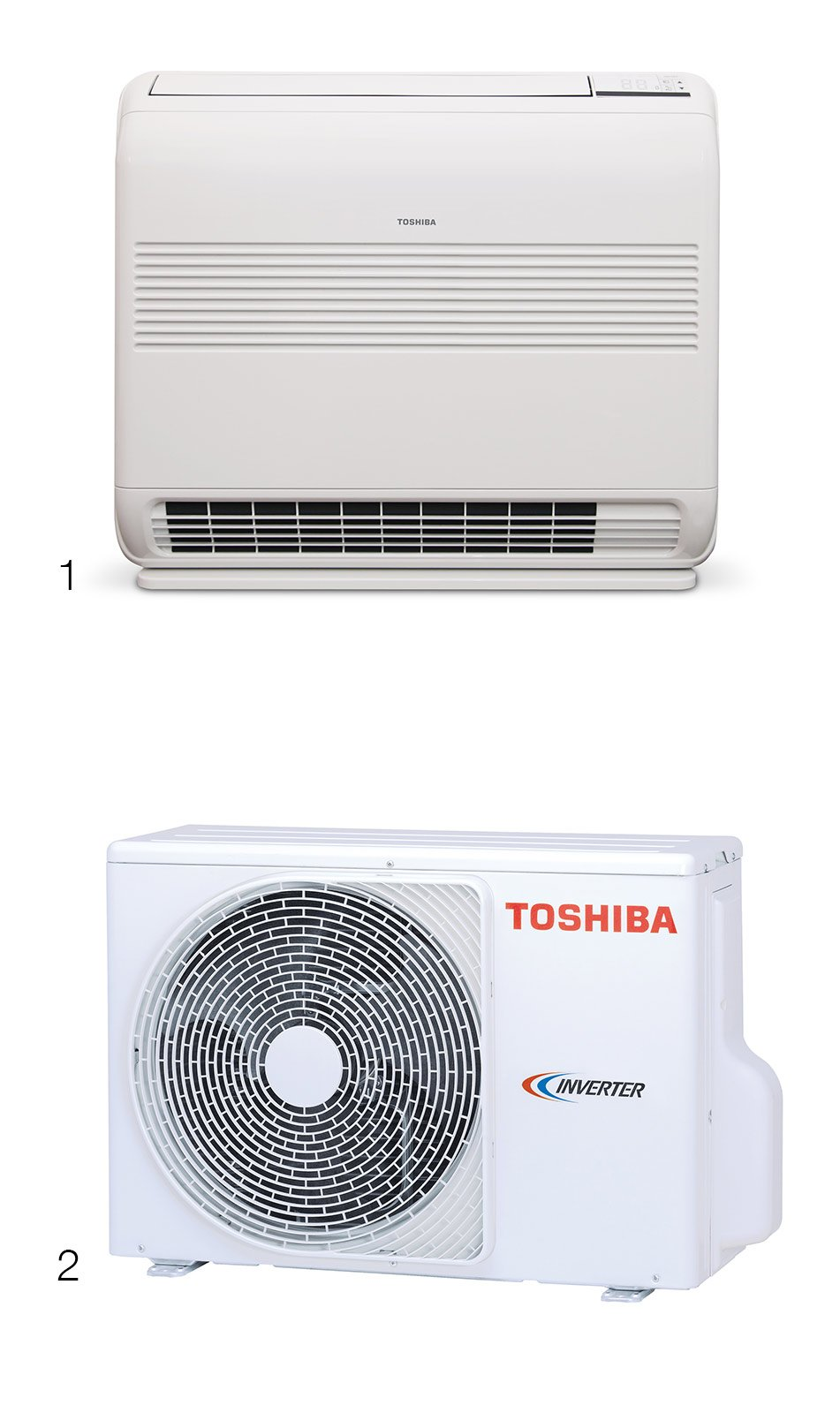 Charming Toshiba Console Unità Interna