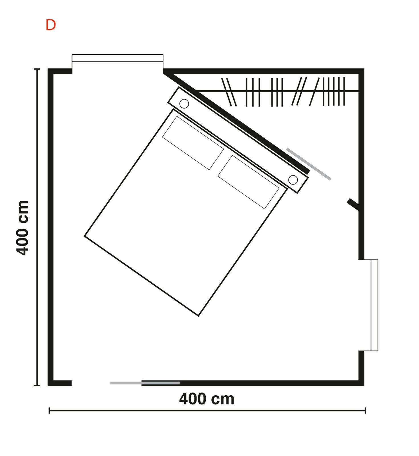 cabine armadio. progettiamo insieme lo spazio - cose di casa - Misure Standard Per Una Cabina Armadio