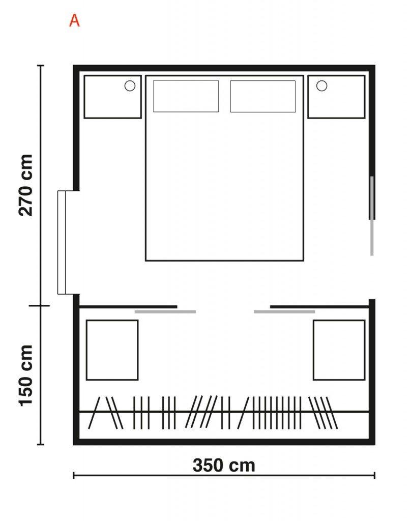 dimensioni cabina armadio idea creativa della casa e
