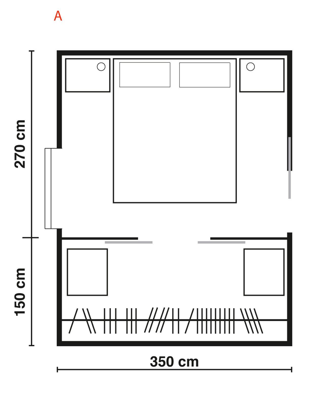 Cabine armadio progettiamo insieme lo spazio cose di casa - Misure cabine armadio ...