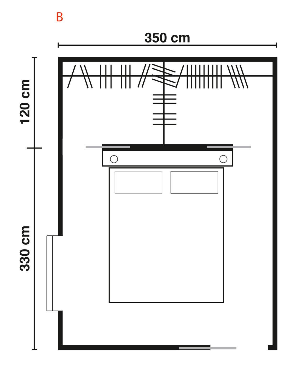 Cabine armadio progettiamo insieme lo spazio cose di casa for Planimetrie della master suite
