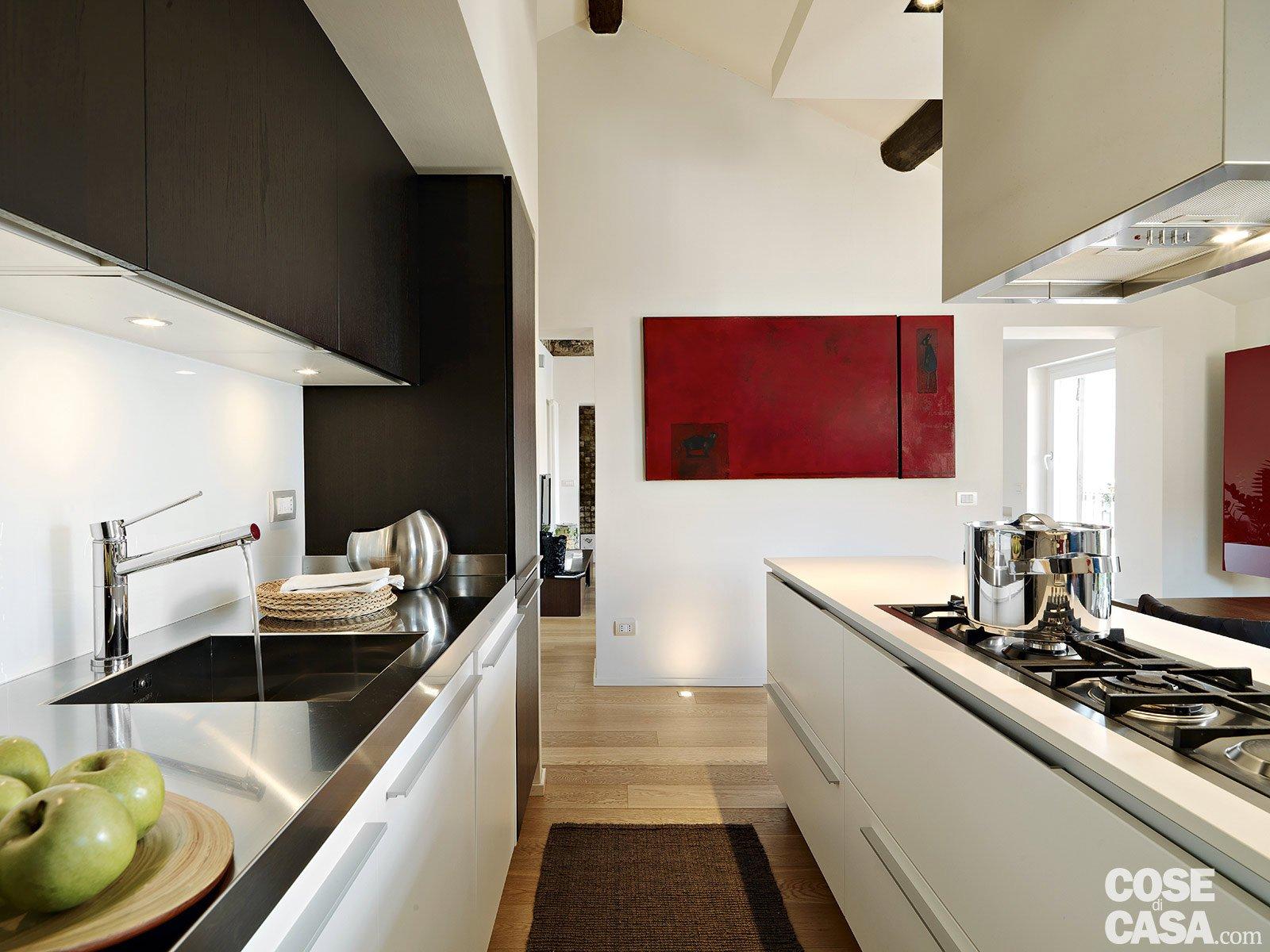 Faretti Cucina Binario Ristrutturazione Barchessa Siamo Alla Scelta  #6F241E 1600 1200 Binario Per Pensili Cucina Ikea
