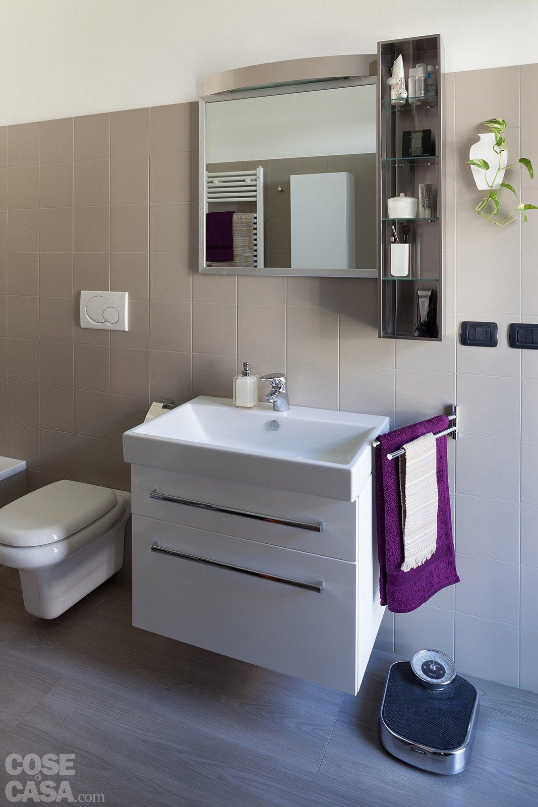 Suddivisioni ottimizzate per la casa di meno di 100 mq for 2 bagni piccola casa