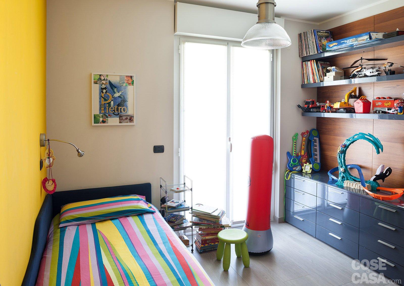 Suddivisioni ottimizzate per la casa di meno di 100 mq for Arredare camera da letto di 10 mq