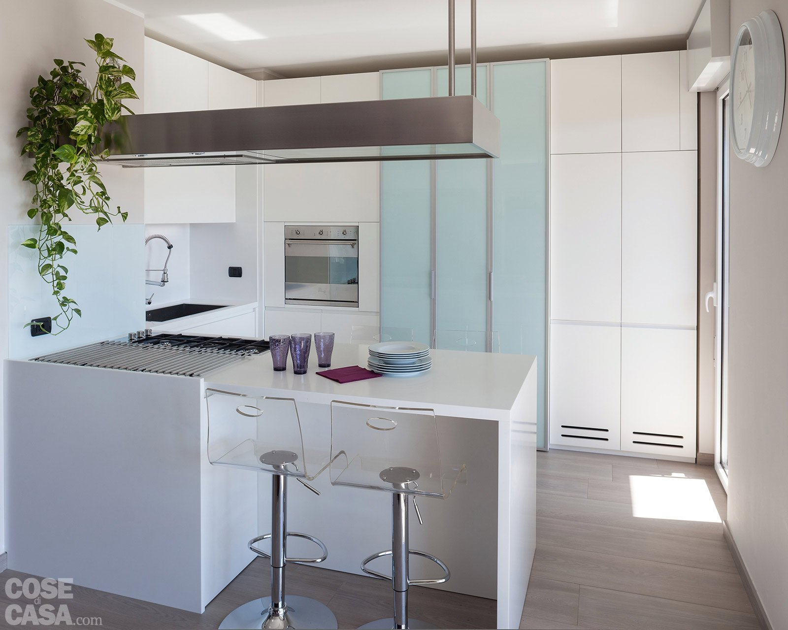 Mensole per cucina moderna cucine moderne with mensole for Salvaspazio cucina
