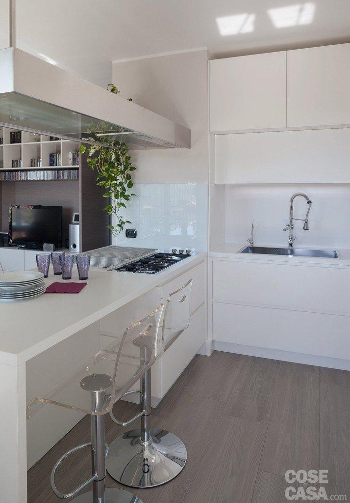 Suddivisioni ottimizzate per la casa di meno di 100 mq for Cose di casa cucine
