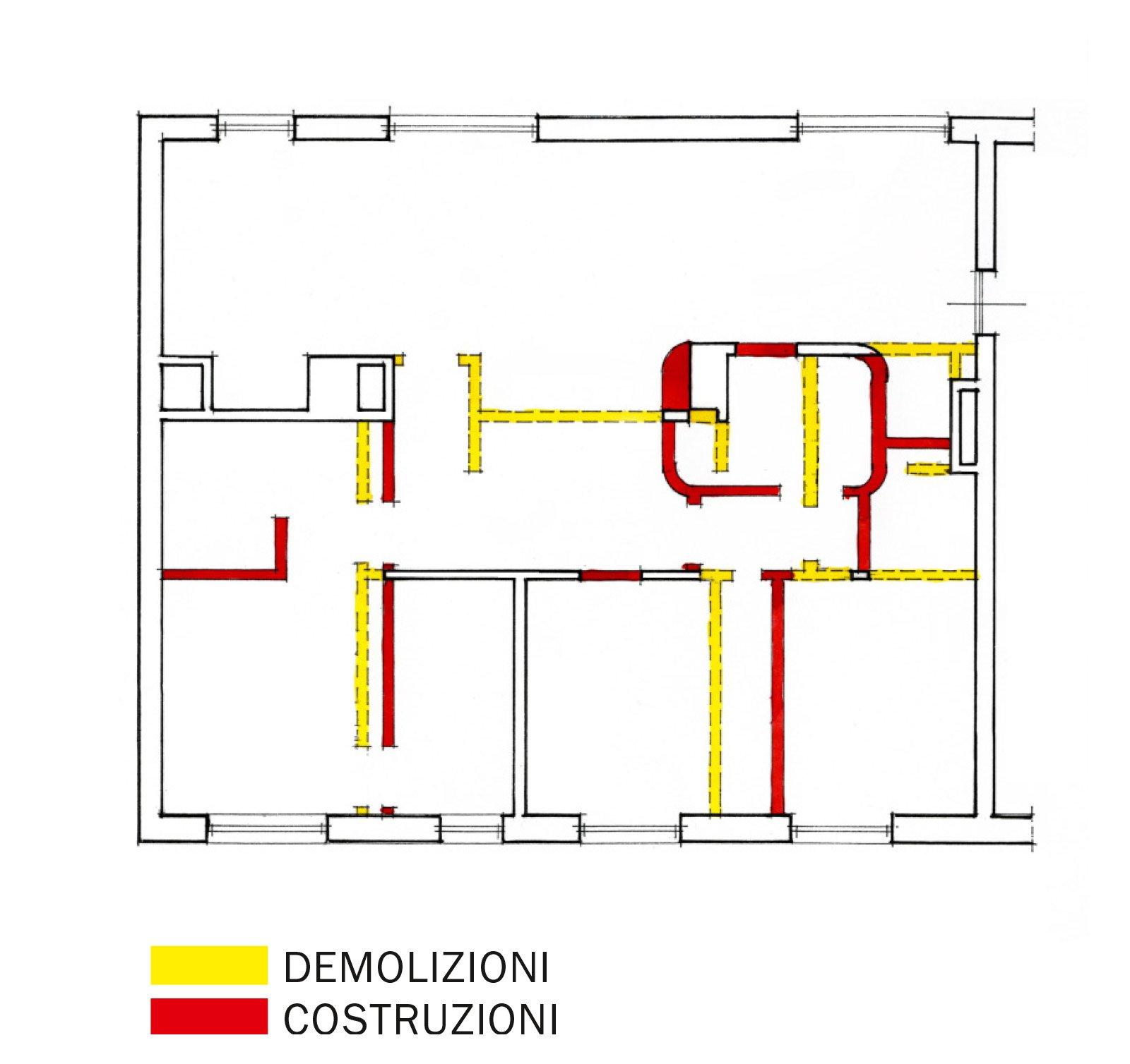 Suddivisioni ottimizzate per la casa di meno di 100 mq - Altezza di una finestra ...