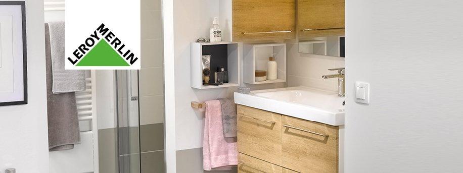 Bagno creativit e personalizzazione a prezzi convenienti - Leroy merlin rubinetti bagno ...