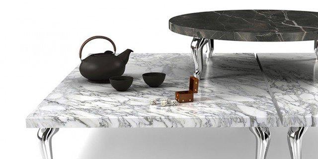 Protagonisti cemento, marmo e lamiere