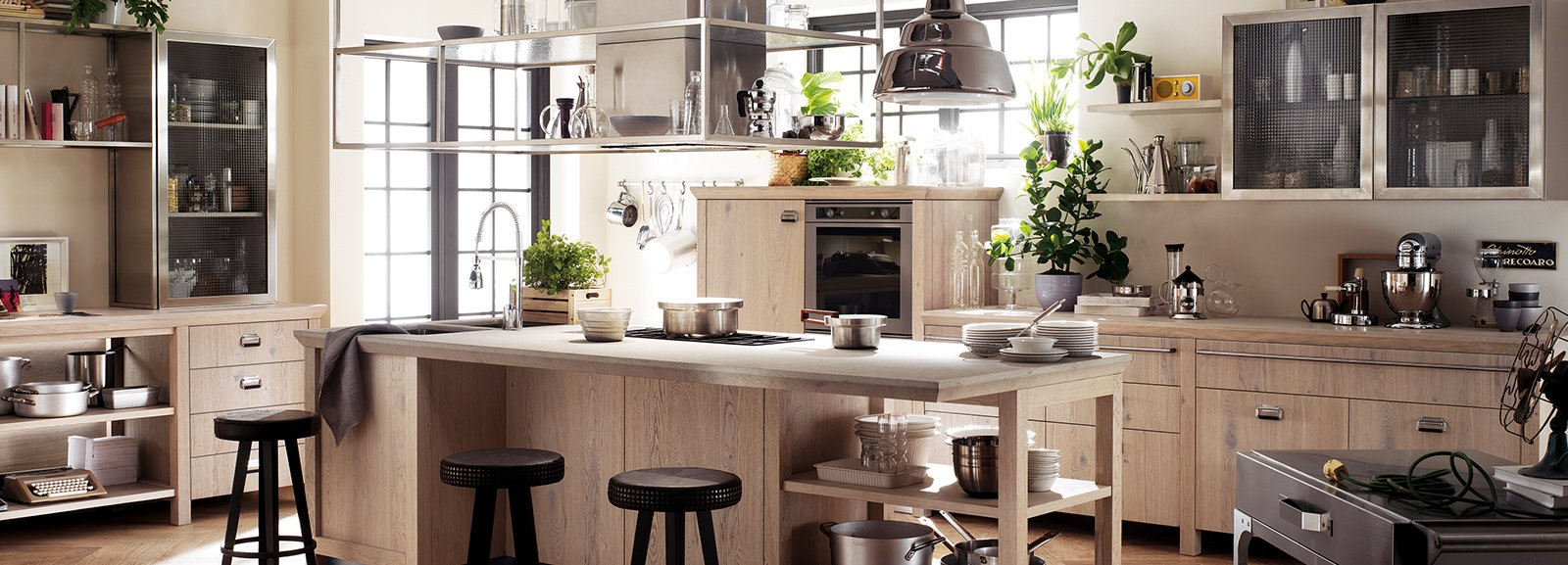 Cucine moderne in legno cose di casa for Case americane arredamento