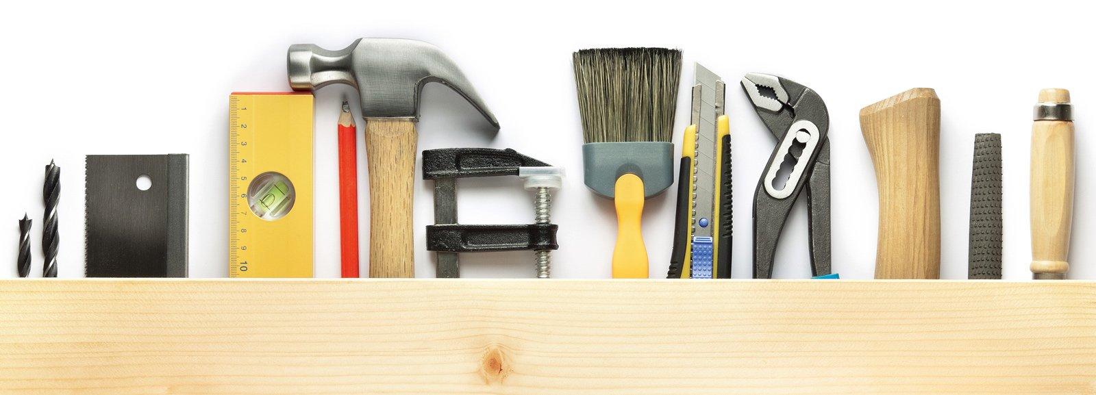 Gli attrezzi del fai da te visti da vicino cose di casa for Architetto fai da te