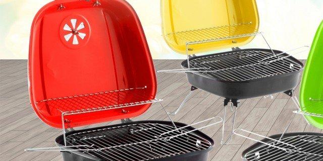 Barbecue pieghevoli, portatili, fissi