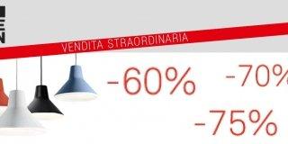 Vendita straordinaria di Luceplan, 6-9 giugno 2014