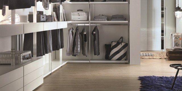 Cabine armadio per camere cose di casa - Camere da letto con cabina armadio angolare ...