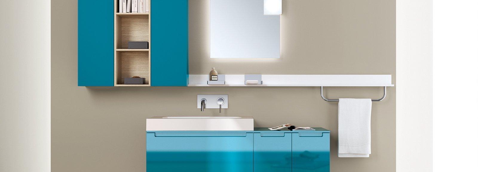 Lavabo mobile cose di casa for Ikea mensole bagno