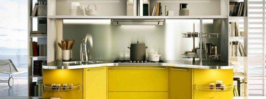 cucine colorate suggerimenti tendenza : cucine colorate come un quadro contemporaneo 23 07 2014 cucine moderne ...
