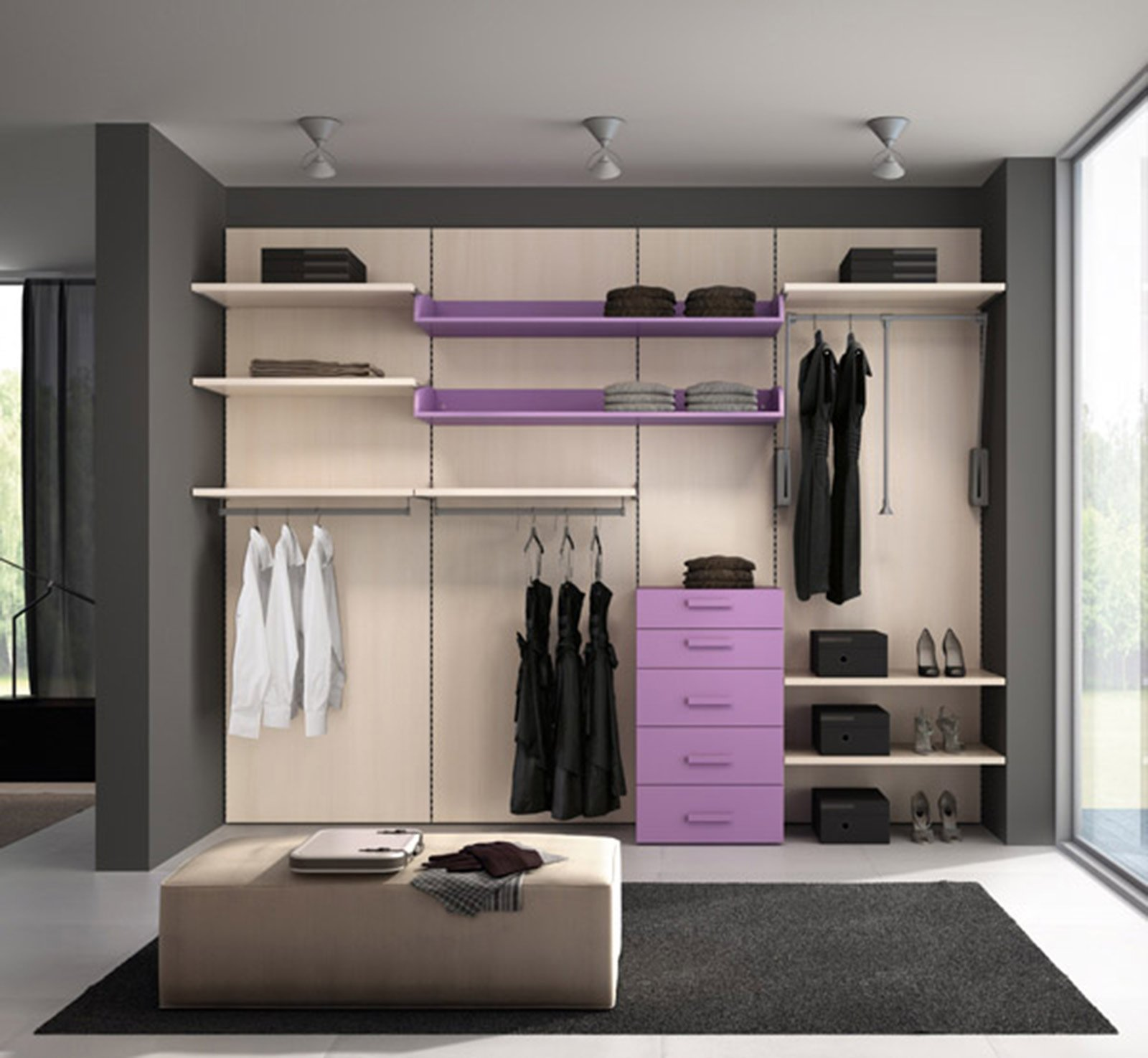 Cabine armadio progettiamo insieme lo spazio cose di casa - Mobili cabina armadio ...