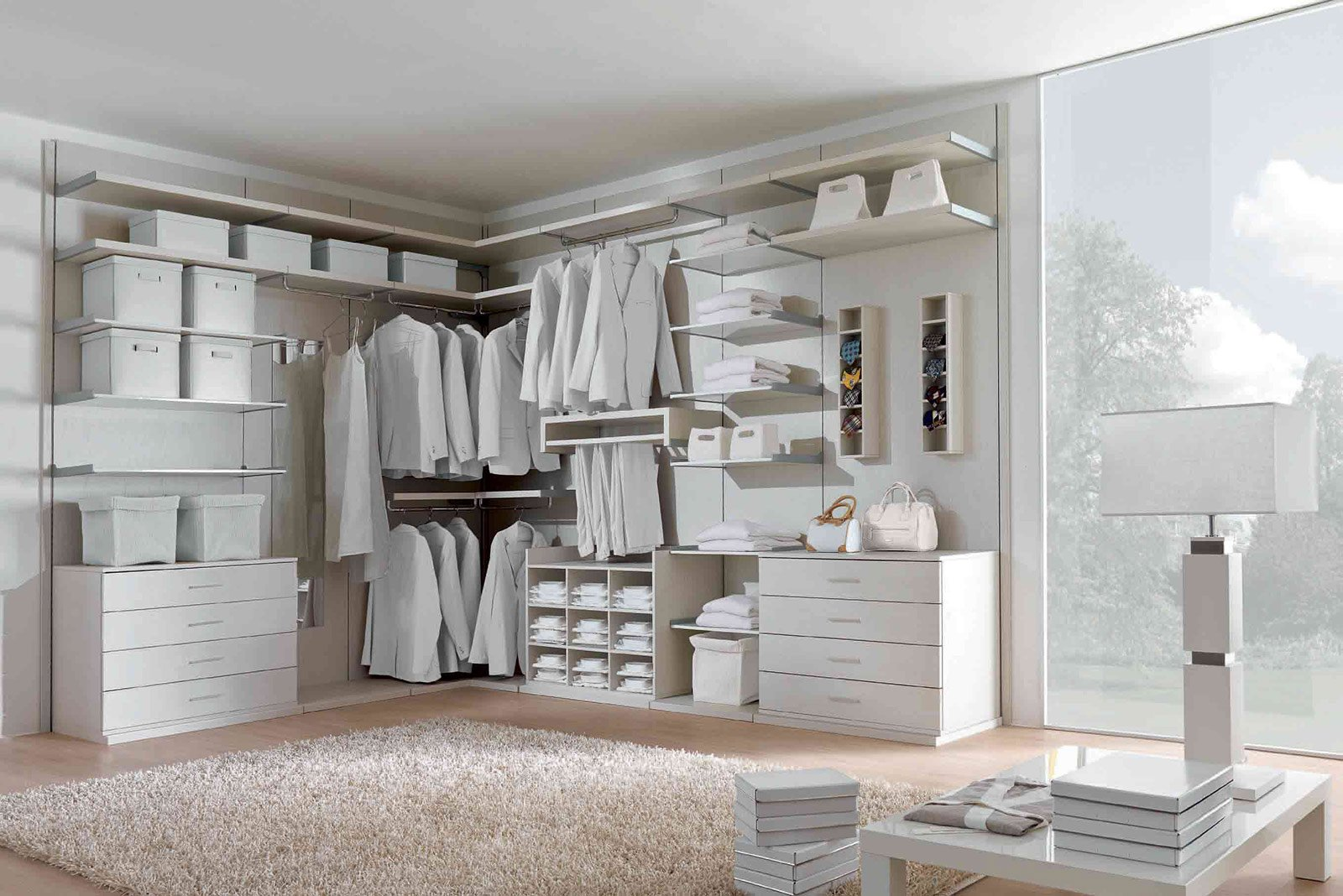 Cabine armadio progettiamo insieme lo spazio cose di casa for Armadio con ripiani