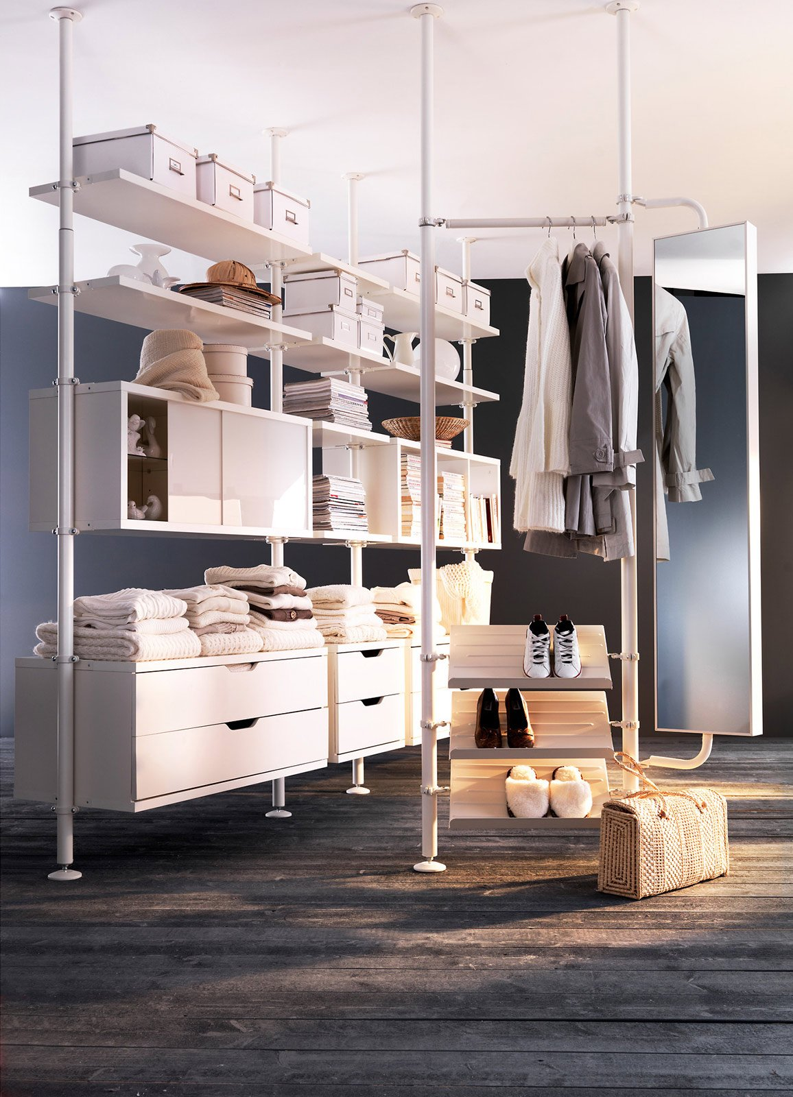 Cabine armadio progettiamo insieme lo spazio cose di casa - Tende per mansarda ikea ...